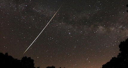 Lyrid meteor shower lights up sky around world