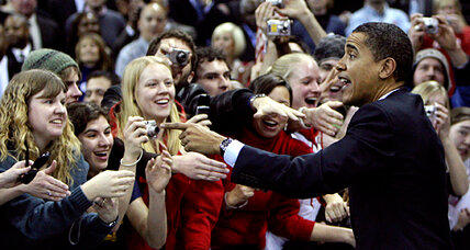 Obama slipping among young white voters