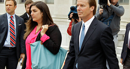 John Edwards's trial: a cad, or a cad and a felon?