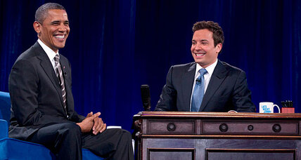 Obama slow jams the news with Jimmy Fallon. How does that work?