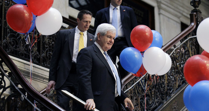 Gingrich hopeful for Delaware primary upset