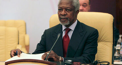 As Syria cease-fire falters, Kofi Annan urges faster arrival of UN monitors