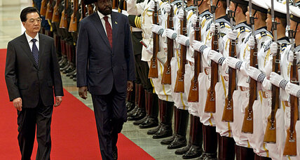 On trip to China, South Sudan's leader warns of war with Sudan (+video)