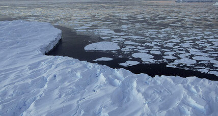 What's to blame for melting Antarctic ice? (+video)
