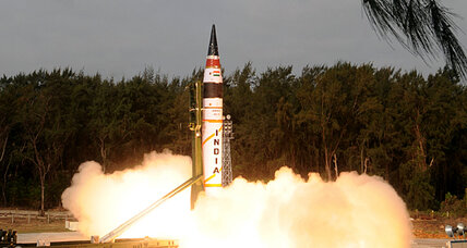 Ritual Aggression: India and Pakistan's missile tests, following peace talks (+video)
