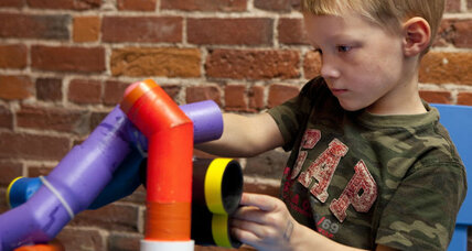 Letting kids play: celebrating low-tech toys
