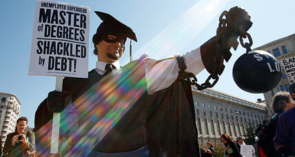 Student loans: As debts hit $1 trillion mark, protesters plan Occupy-type events