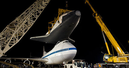 Space Shuttle Enterprise scheduled to arrive in New York Friday