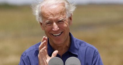 Biden calls out 'shallow and dangerous, back to the future' Romney foreign policy