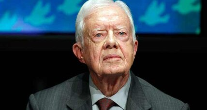 Jimmy Carter gives Mitt Romney an unexpected boost