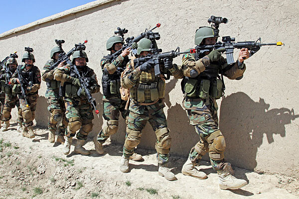 afghan commando kills special forces soldier: us training mission