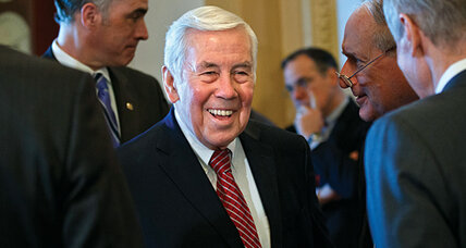 Sen. Dick Lugar trails GOP rival in poll. A surge of tea party power?