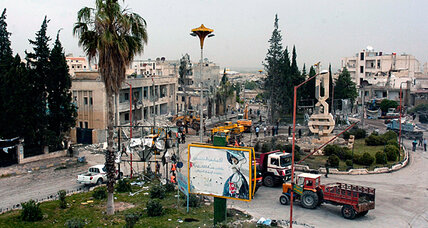 Syrian uprising shifts toward suicide bombings. Al Qaeda's handiwork?