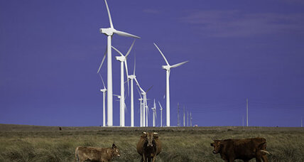 How wind farms could cause local (but not global) warming