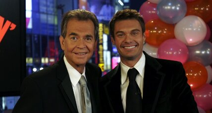 American Idol host Ryan Seacrest honors mentor, Dick Clark (+video)
