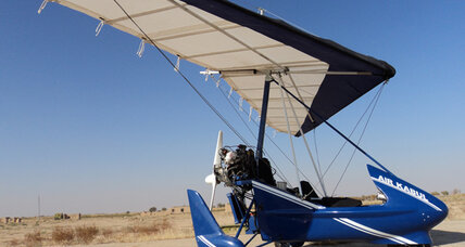 Rural tinkerer builds the first airplane made in Afghanistan