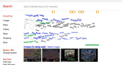 Zerg rush! How to unlock the newest Google easter egg