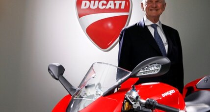 Audi expands into motorcycles with Ducati