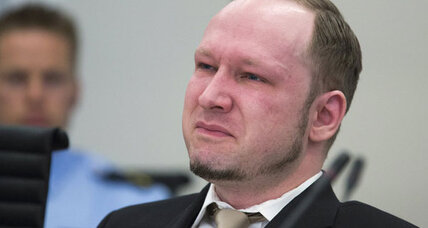 Breivik tears up at anti-Muslim video
