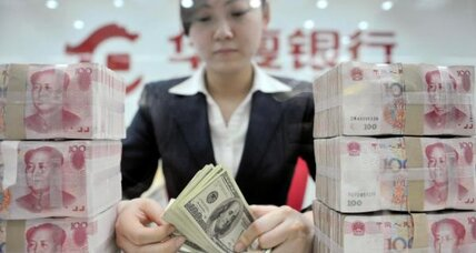 Currency move latest sign of China's transformation