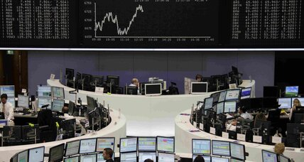 Stock market gets boost from earnings, Germany