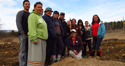 On Earth Day, Canada's native Innus march to save their land, identity