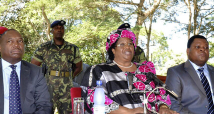Malawi's Banda becomes Africa's third female head of state