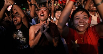 The real victory in the Myanmar election