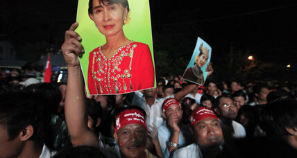 Opposition claims historic sweep in Myanmar elections