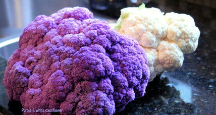 Cauliflower in the garden and the kitchen