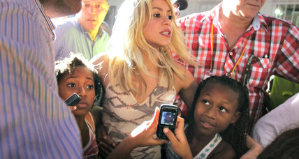 Shakira advocates for children at the Summit of the Americas