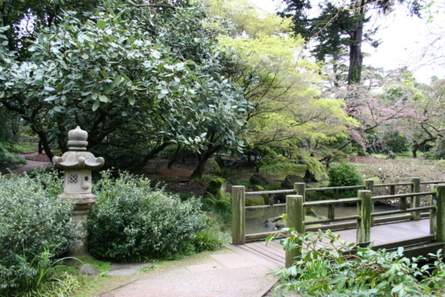 Tips for japanese garden design for Small japanese garden pond