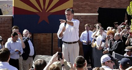 Mitt Romney addresses a touchy subject about his religion