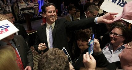 What's Rick Santorum's exit strategy – er plan to prevail?
