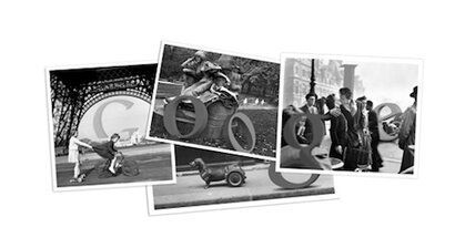 Robert Doisneau, an artist of the Parisian streets, honored today by Google