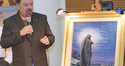 Painter of light Thomas Kinkade: 'I really like to make people happy.'