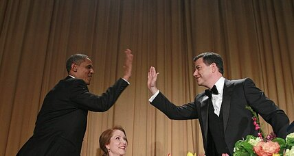 White House Correspondents Dinner: Obama mocks Romney, Secret Service, himself
