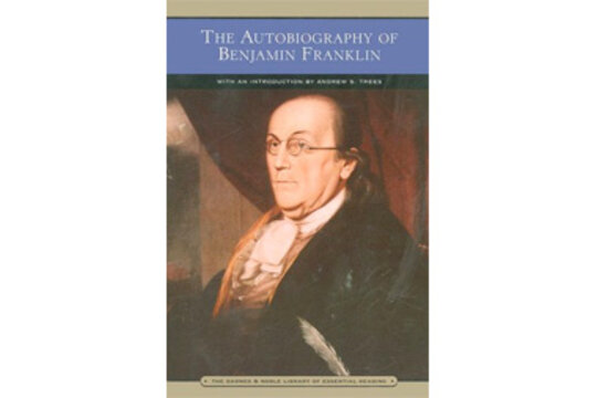 REVIEW : THE AUTOBIOGRAPHY OF BENJAMIN FRANKLIN - Book Report/Review Example