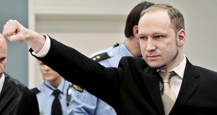 Anders Breivik trial gets underway in Norway as defendant claims self-defense