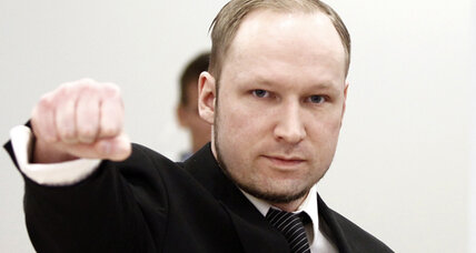 Chronicle of a trial foretold: Breivik is following his manifesto's script