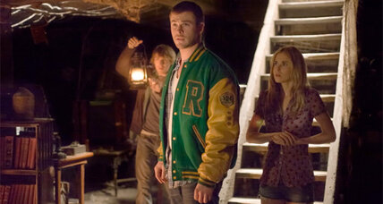 'The Cabin in the Woods' is over-the-top, but has an intriguing twist