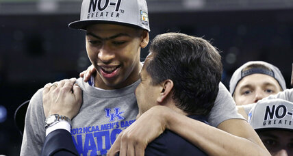 Kentucky stands tall to win eighth NCAA championship