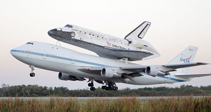 Space shuttle Discovery begins final flight