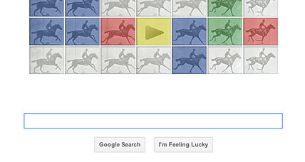 Google Doodle celebrates Eadweard J. Muybridge, Father of the Zoopraxiscope