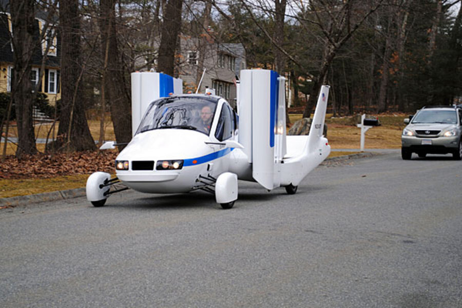 Terrafugia Flying Cars Cost 279 000 Each Already Have 100 Pre Orders