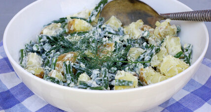 Meatless Monday: Green bean and potato salad with lemon-dill aioli