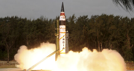 India tests missile that can reach China