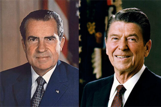 Image result for nixon and reagan