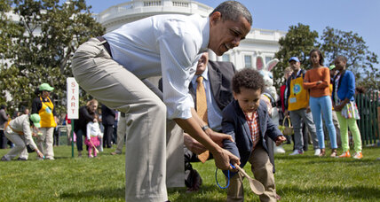 White House Easter egg roll: President, Mrs. Obama host annual children's event