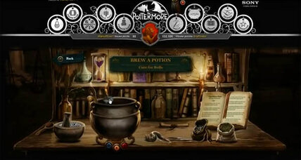 Pottermore gives users a sneak peek